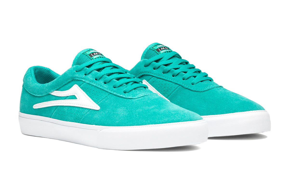 Sheffield - Teal Suede - Mens Shoes