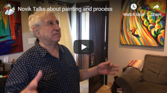Novik - On Painting and Process