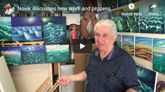 Novik discusses new work and process