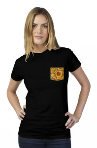 Children of the Sun Tultex Women's Pocket Tee