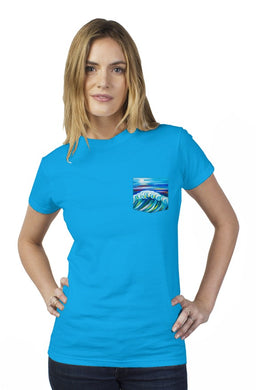 Midnight Bride Tultex Women's Pocket Tee