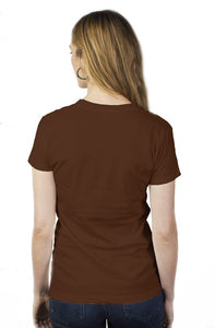 art-by-novik - Music in the City Tultex Women's Pocket Tee - tshirts