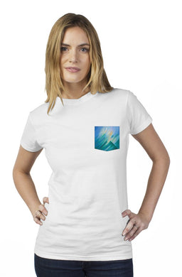 Storm Fantasy Tultex Women's Pocket Tee