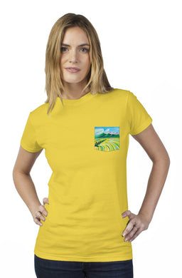 Hunter's Paradise Tultex Women's Pocket Tee