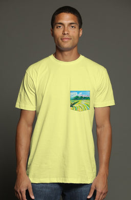 Hunter's Paradise USA Men's Pocket Tee