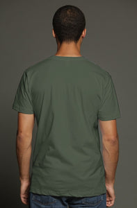 art-by-novik - Pearl Born USA Men's Pocket Tee - tshirts