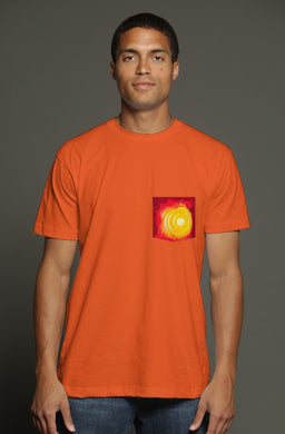 Heat USA Men's Pocket Tee