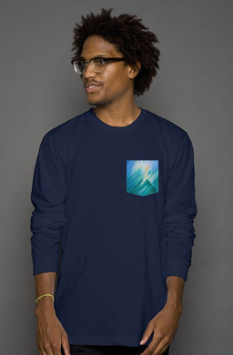 Storm Fantasy Long Sleeve Men's Pocket Tee