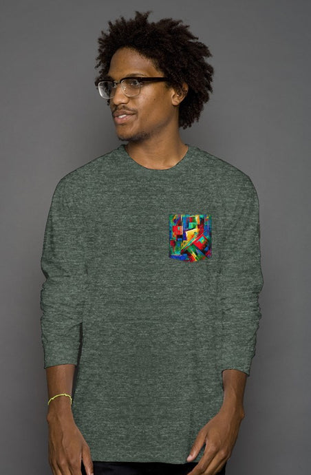 art-by-novik - Memories Long Sleeve Pocket Tee - tshirts
