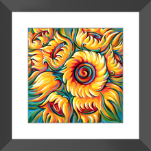 Load image into Gallery viewer, art-by-novik - Children of the Sun Framed Print -