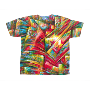 art-by-novik - Birthplace of Fire on All-Over Print T-Shirts -