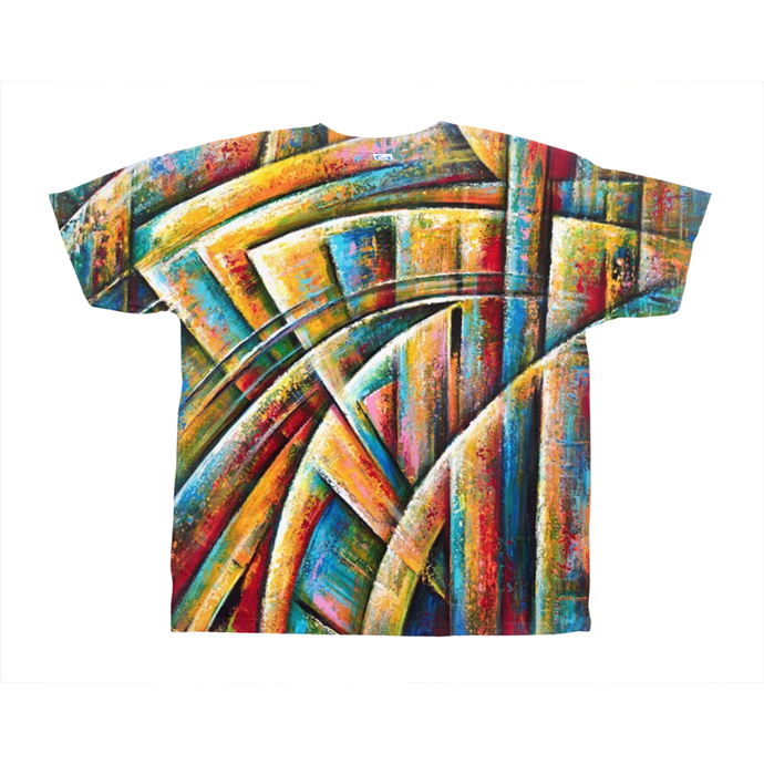 art-by-novik - New System on All-Over Print T-Shirts -