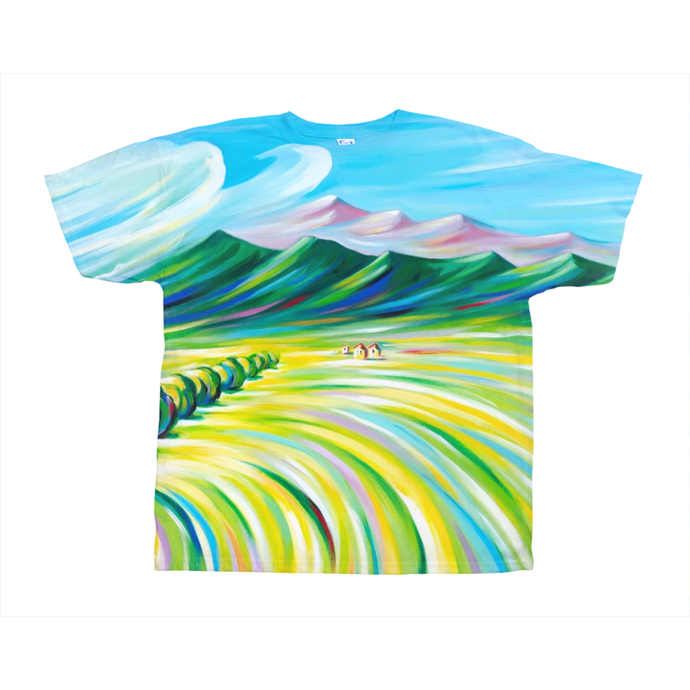 art-by-novik - Hunter's Paradise on All-Over Print T-Shirts -