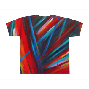 art-by-novik - Through Each Other on All-Over Print T-Shirts -
