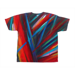 Through Each Other on All-Over Print T-Shirts