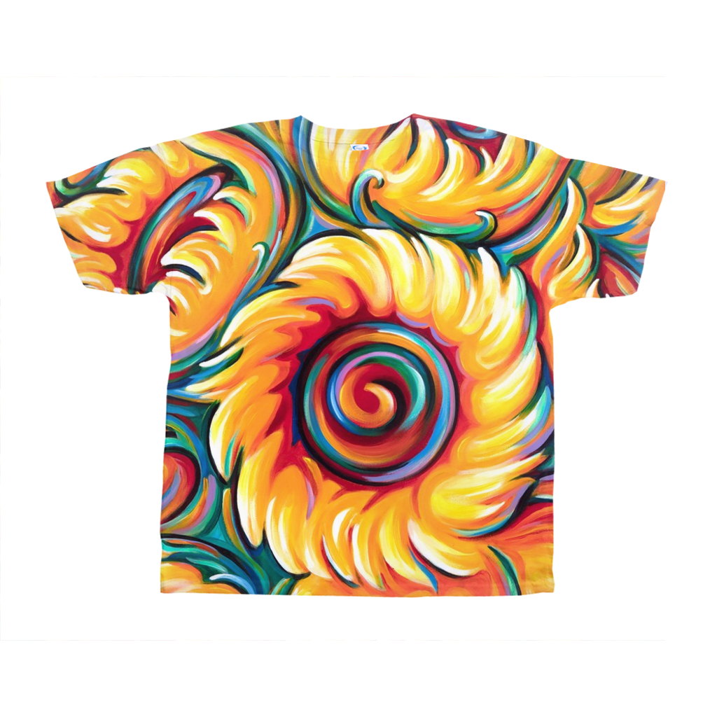 art-by-novik - Children of the Sun on All-Over Print T-Shirts -