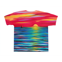 Load image into Gallery viewer, art-by-novik - Red Sunset on All-Over Print T-Shirts -