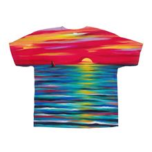 Load image into Gallery viewer, Red Sunset on All-Over Print T-Shirts