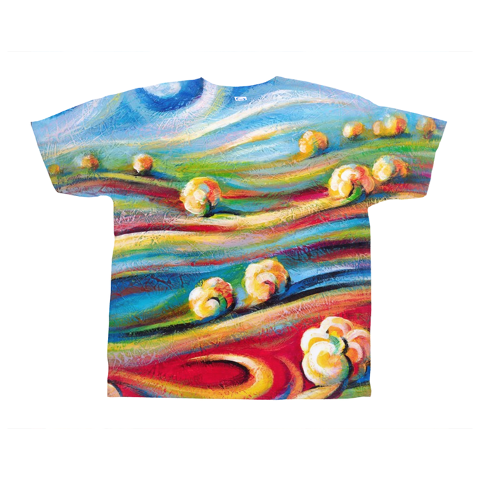 art-by-novik - Nap in Fairytale on All-Over Print T-Shirts -