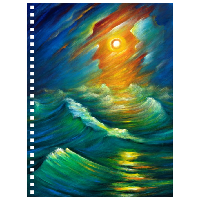 art-by-novik - Yellow from the Night Sky Notebook -