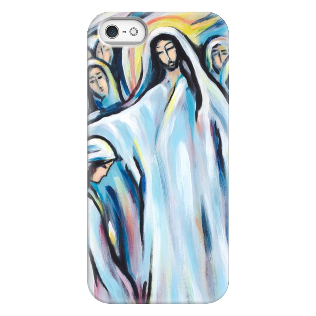 art-by-novik - Lord and Child Phone Cases -