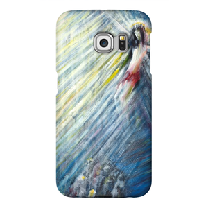 art-by-novik - Crucifixion Phone Cases -