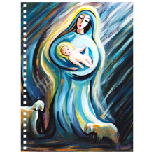 Load image into Gallery viewer, art-by-novik - Birth of the Savior Notebook -