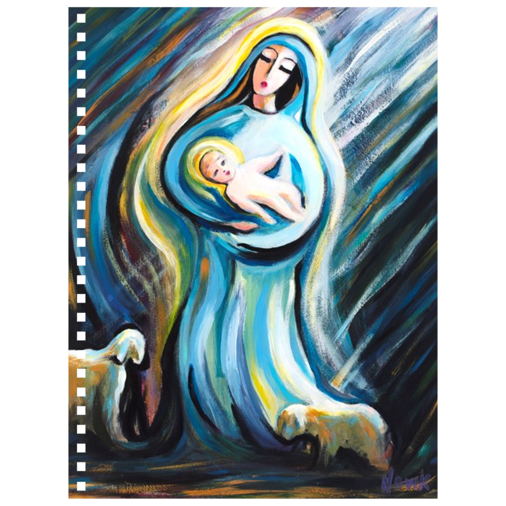 art-by-novik - Birth of the Savior Notebook -