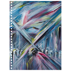 art-by-novik - Bearing Cross Notebook -
