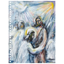 Load image into Gallery viewer, art-by-novik - Baptism Notebook -