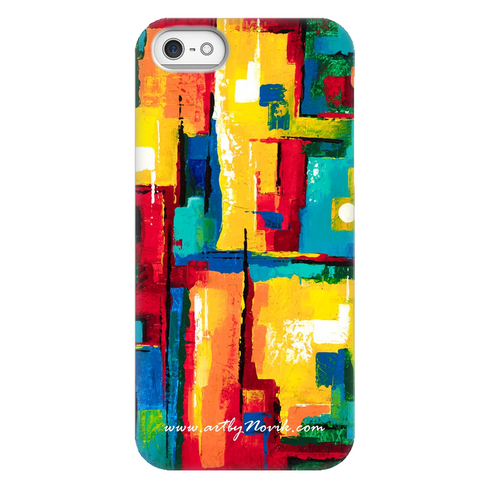 Phone Case Abstract Art by Novik - Museum