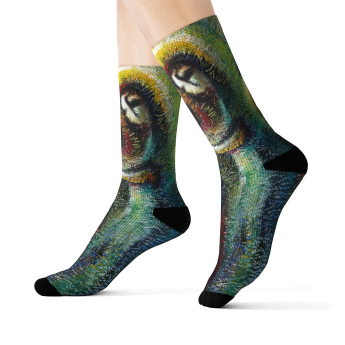 art-by-novik - Gift from the Heaven Sublimation Socks - All Over Prints