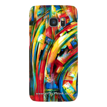 Load image into Gallery viewer, Phone Case Abstract Art by Novik - Turbulence of Ideas