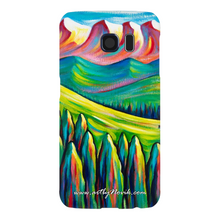 Load image into Gallery viewer, Phone Case Landscape Expressionist Art by Novik - Somewhere Far