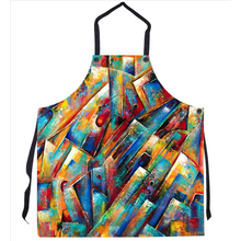 Load image into Gallery viewer, Space Collection Abstract Art Apron