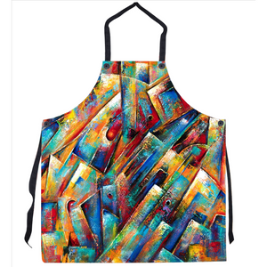 Space Collection Abstract Art Apron