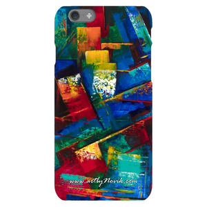 Phone Case Abstract Art by Novik - Evening in the Dream*