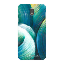 Load image into Gallery viewer, Phone Case Expressionist Ocean Water Waves Art by Novik - Rebellious Element