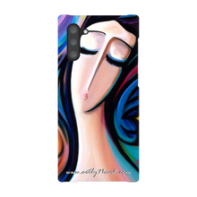 Load image into Gallery viewer, Phone Case Expressionist Figurative Art by Novik - Spirirt of the Flower