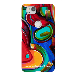 Phone Case Abstract Art by Novik - Adrenaline*
