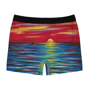 Red Sunset Men's Boxer Briefs