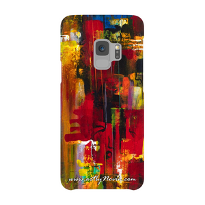 Phone Case Abstract Art by Novik - Masquerade