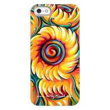 Load image into Gallery viewer, Brazil Phone Case Expressionist Sunflower Art by Novik - Children of the Sun