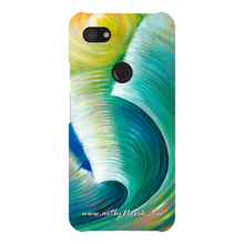 Load image into Gallery viewer, Phone Case Expressionist Ocean Water Waves Art by Novik - Wave Romance*
