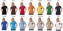 Load image into Gallery viewer, art-by-novik - Another Time Tultex Women's Pocket Tee - tshirts