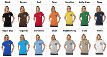 Load image into Gallery viewer, art-by-novik - Inspiration Tultex Women's Pocket Tee - tshirts