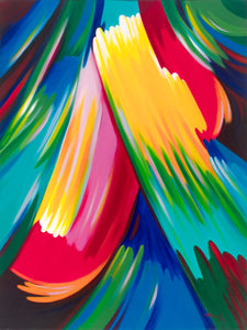 "art-by-novik - Holy Spirit canvas print on Traditional Stretched Canvas (original: 40"" X 30"") -"