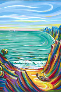 Expressionist Paintings by Venice Los Angeles California artist Novik