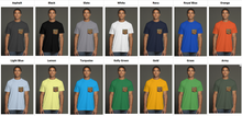 Load image into Gallery viewer, art-by-novik - Pearl Born USA Men's Pocket Tee - tshirts