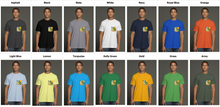 Load image into Gallery viewer, Road to the Sky USA Men's Pocket Tee